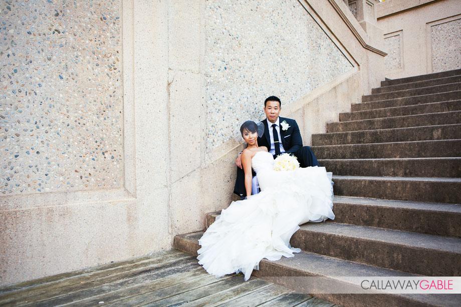 Crane Estate Wedding Photo at the Casino