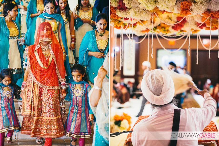 Sikh Indian Wedding Ceremony at the Hyatt Regency Huntington Beach