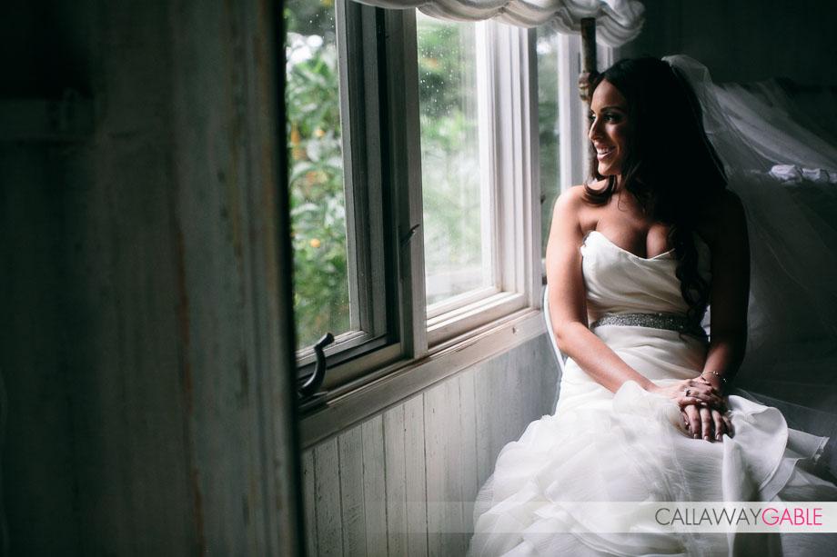 Bridal Portrait at Haiku Mill