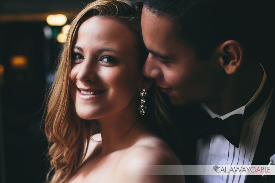 Los Angeles Athletic Club Wedding Photo