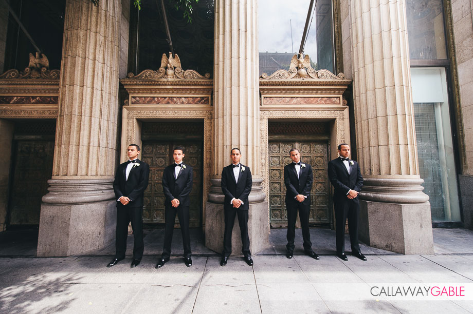 Downtown Los Angeles Wedding Photos