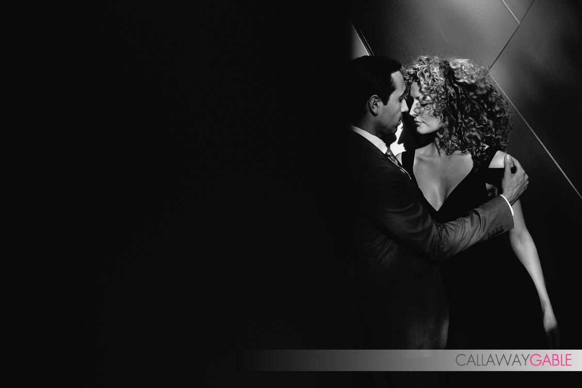 Sexy Disney Concert Hall Engagement Photo