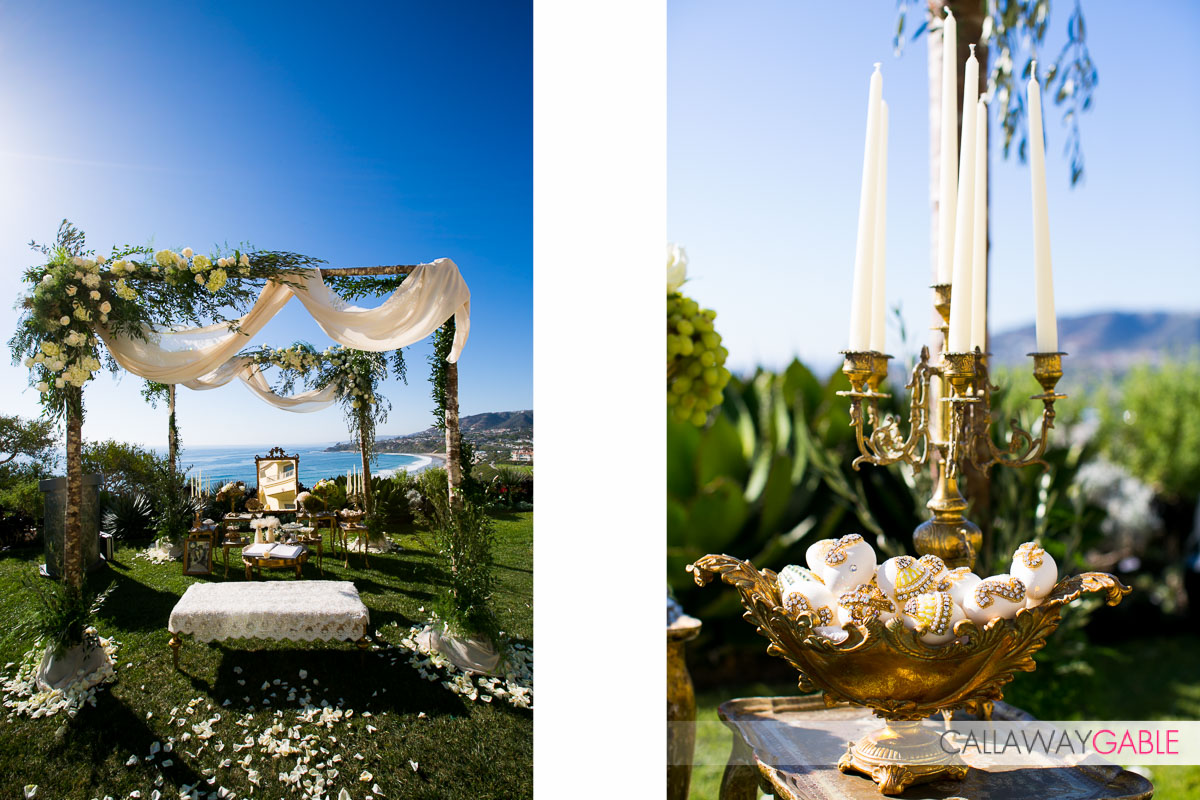 Wedding details at Ritz Carlton Laguna Niguel