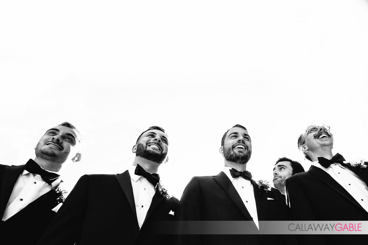 Cool Groomsmen shot in Laguna Niguel