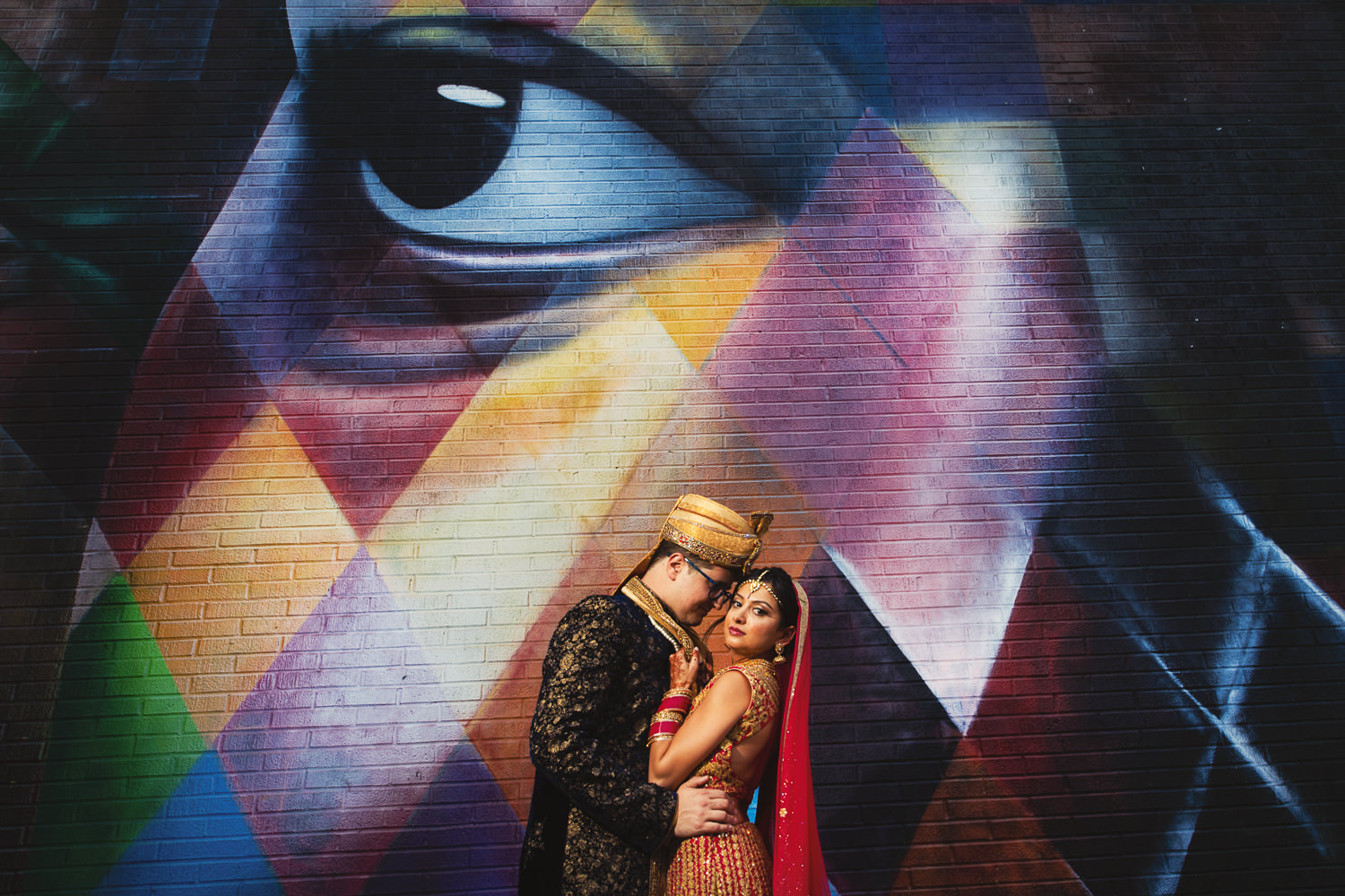 Colorful Los Angeles Indian Wedding photo