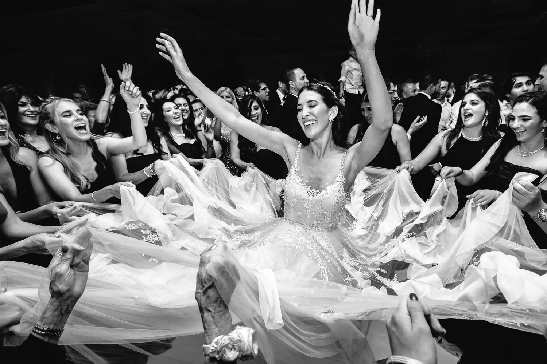 Jewish Wedding reception at Four Seasons Westlake Village