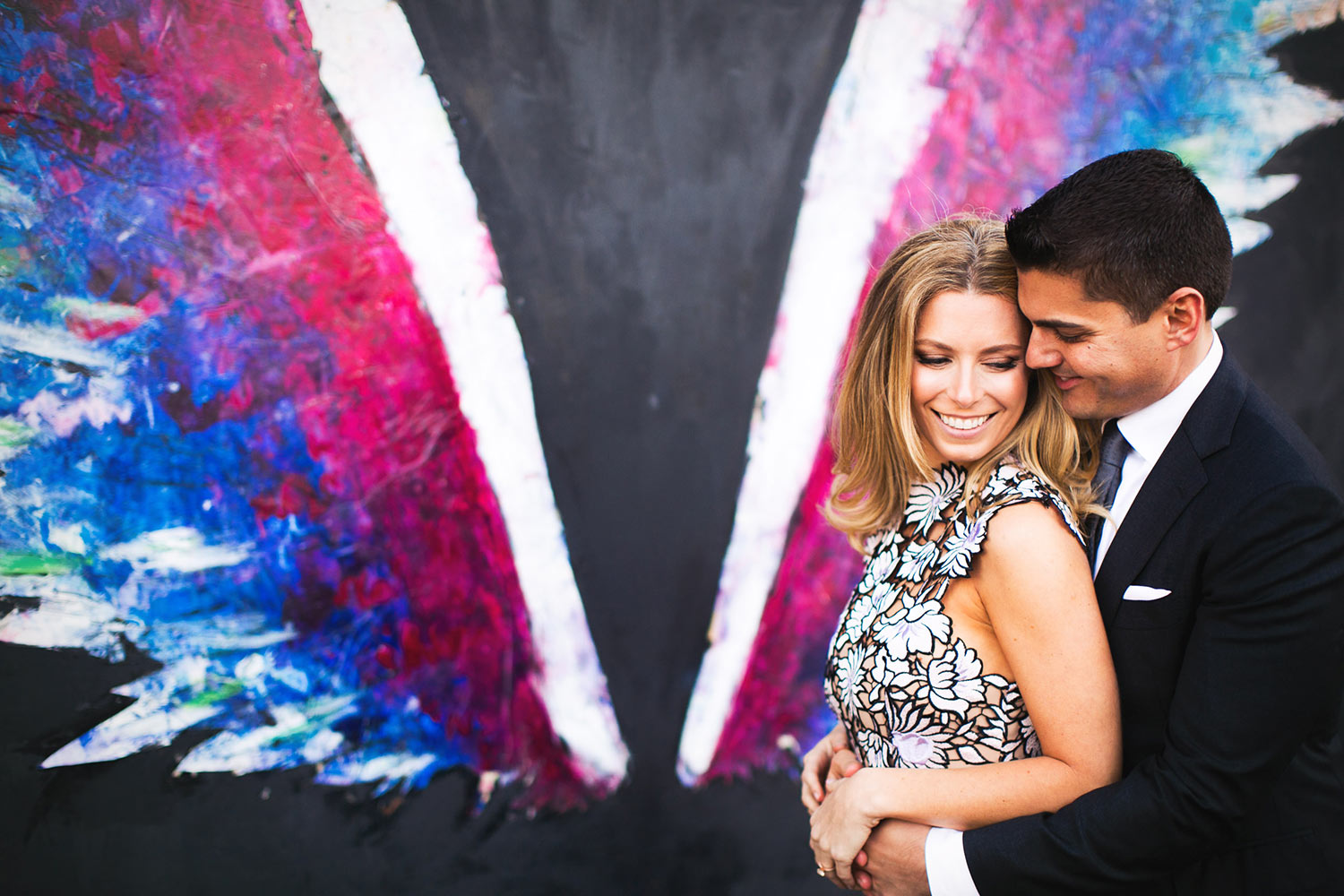 Downtown Los Angeles Arts District Engagement Photo