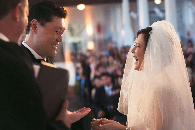 Great Asian wedding ceremony at Vibiana