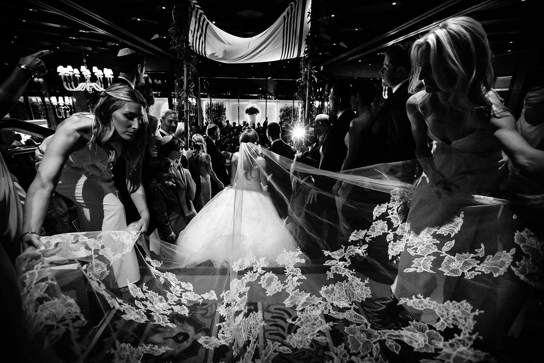 Beautiful wedding ceremony at the Wynn Hotel in Las Vegas