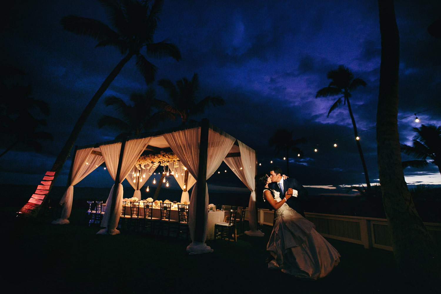 Gorgeous wedding at Sugar Beach Events in Maui Hawaii