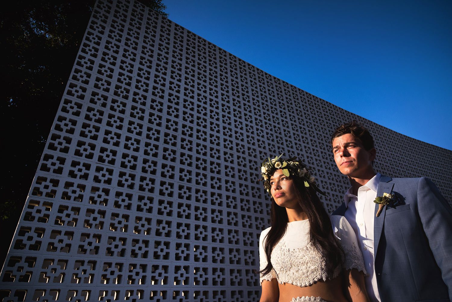 Bohemian Chic Wedding Photo at the Parker Palm Springs