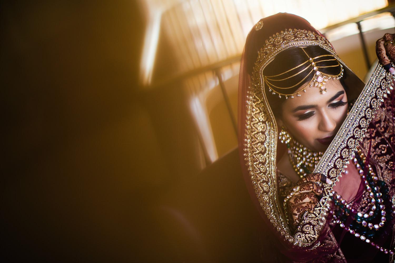 Langham Pasadena Wedding Indian Bride Getting Ready-9