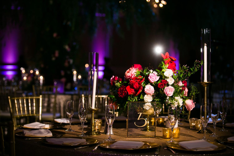 Langham Pasadena Wedding Wedding Reception