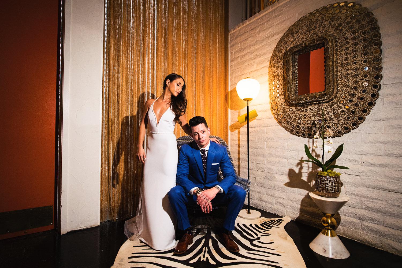 Parker Wedding portrait of couple