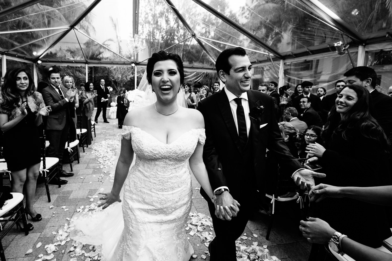 Vibiana Wedding Photographs of Wedding Ceremony