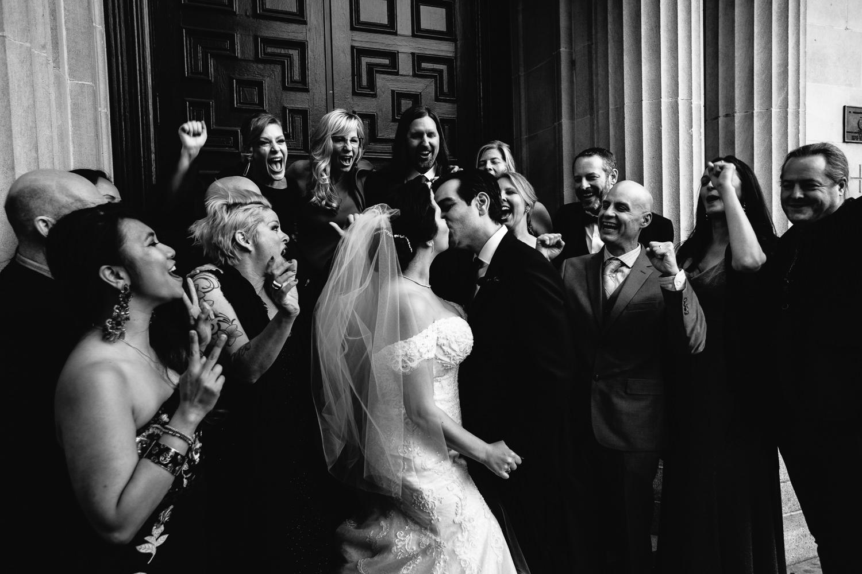 Vibiana Wedding Photographs of Bridal Party