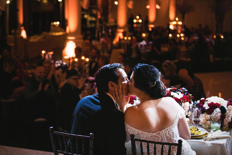 Vibiana Wedding Photographs of Wedding Reception