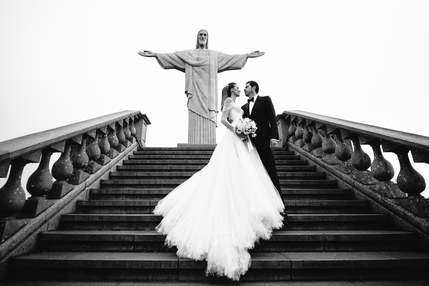 Wedding in Rio de Janerio photo of Guy O'Seary with wife Michelle