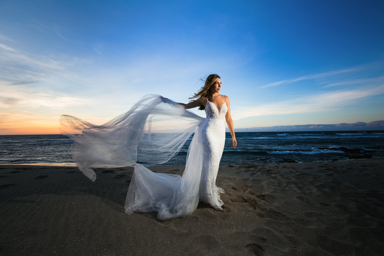 Bride at Four Seasons Hualalai - Big Island Wedding Photographer
