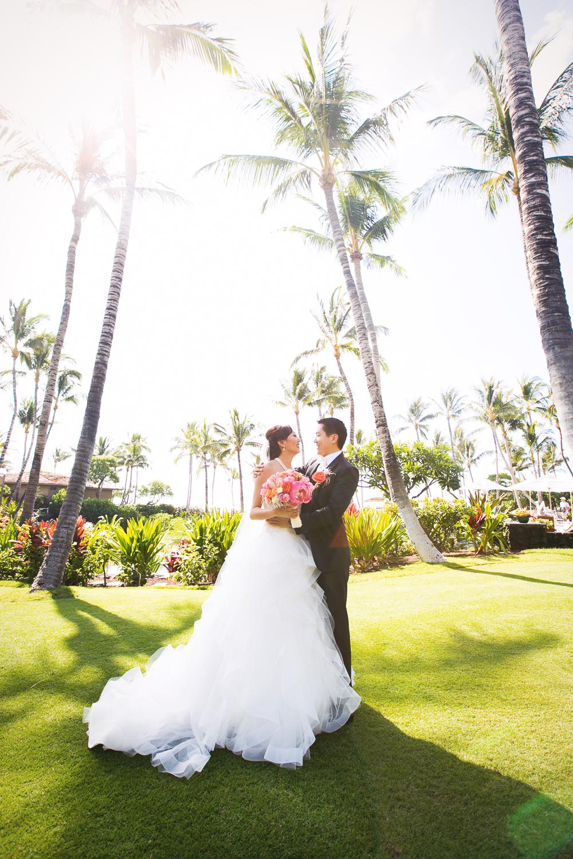 Asian Wedding at Four Seasons Hualalai in Kona