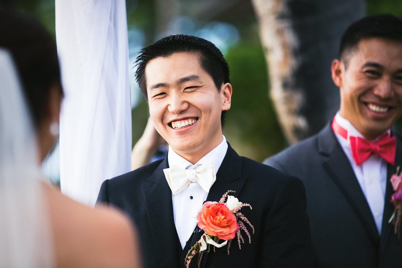 Gorgeous Ceremony at Four Seasons Hualalai Wedding
