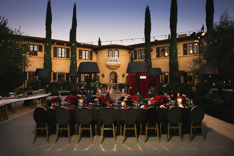 Ojai Valley Inn Intimate wedding reception