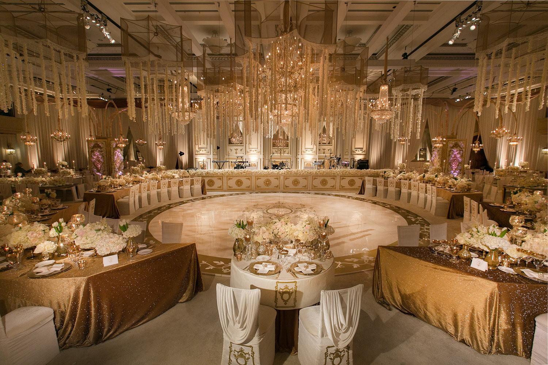 Luxury Ritz-Carlton Santa Barbara Bacara Wedding Reception by Exquisite Events