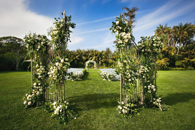 Luxury Four Seasons Santa Barbara Biltmore Wedding