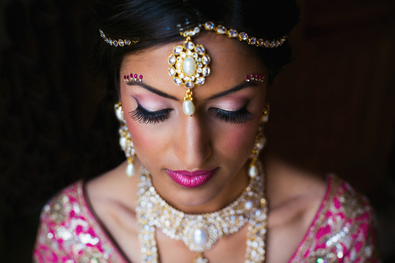 Beautiful Los Angeles Indian South Asian Bride