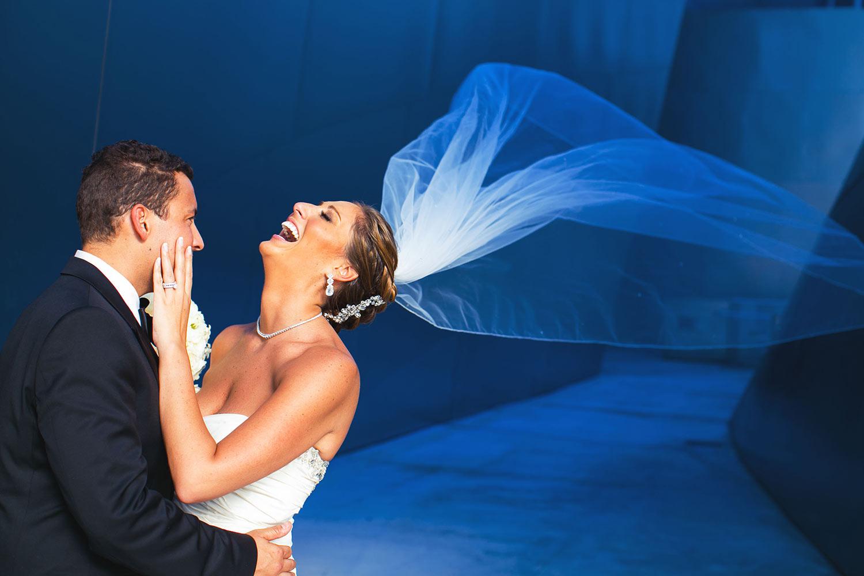 Los Angeles Disney Concert Hall Wedding photo