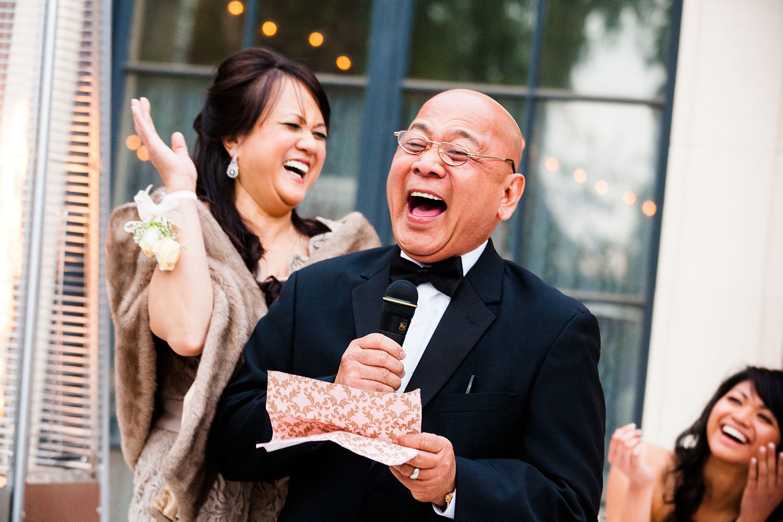 Craven Estate wedding photo in Pasadena