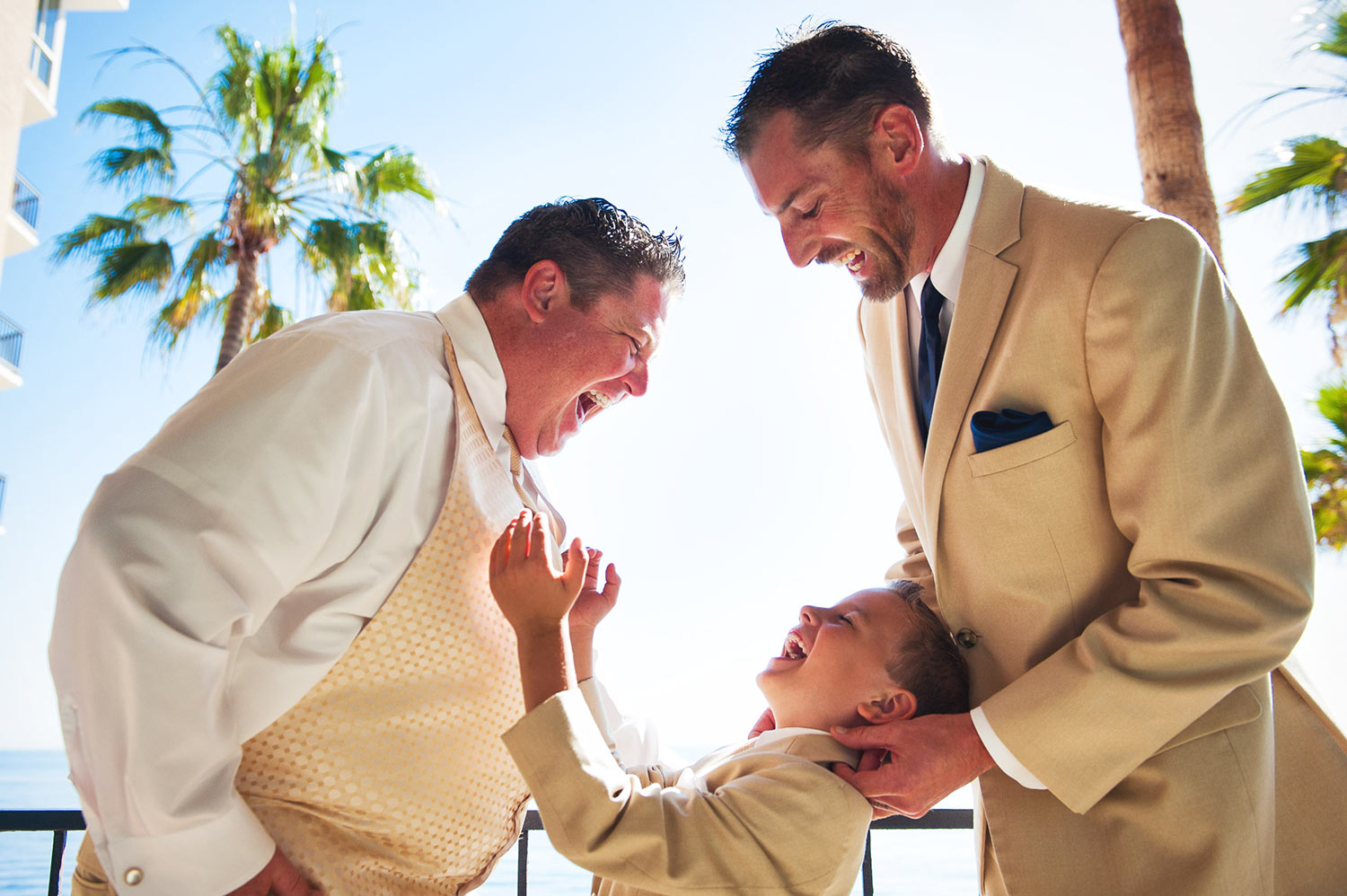 Great wedding moment at Surf and Sand Resort in Laguna Beach