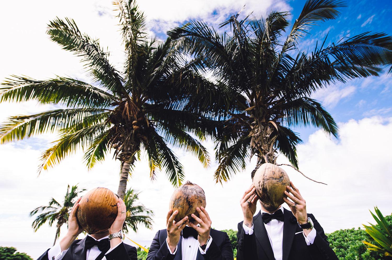 Haiku Mill Wedding Photo in Maui