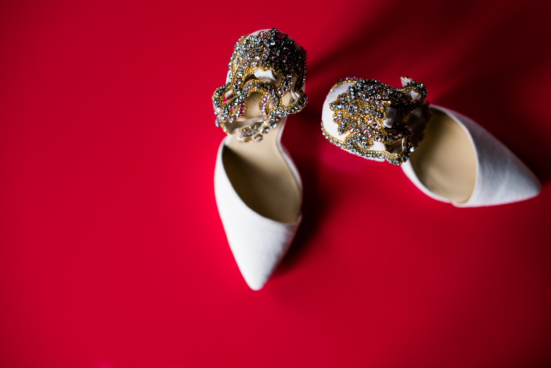 Vibiana Wedding Venue - Brides Shoes