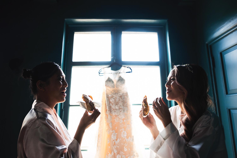 Vibiana Wedding Venue - Bride Getting Ready