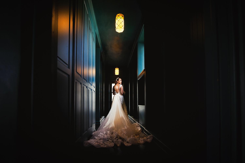 Vibiana Wedding Venue - Brides Dress