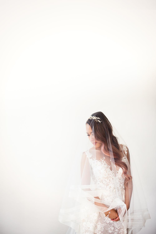 Vibiana Wedding Venue - Bride Portrait