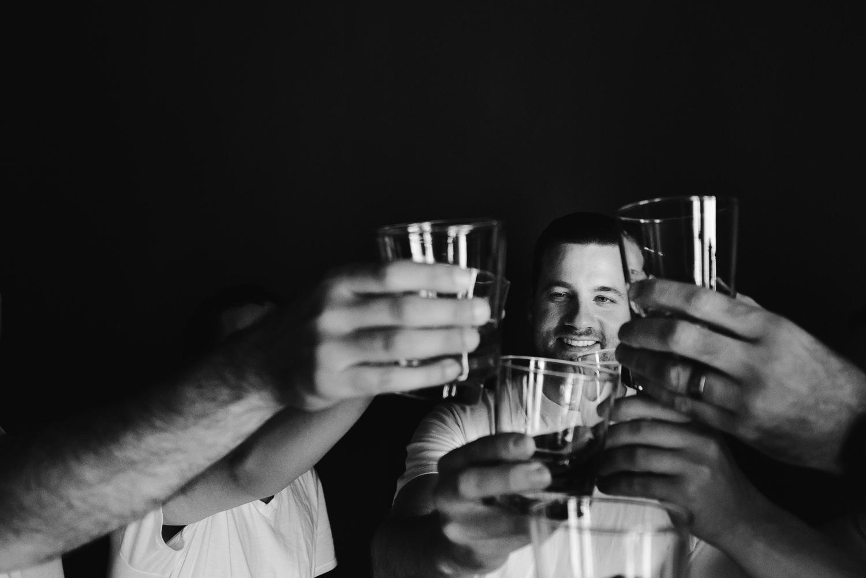 Vibiana Wedding Venue - Drinks With Groom
