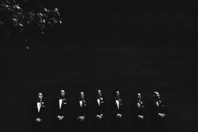 Vibiana Wedding Venue - Groomsmen Together