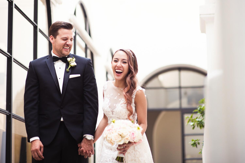 Vibiana Wedding Venue - Happy Couple