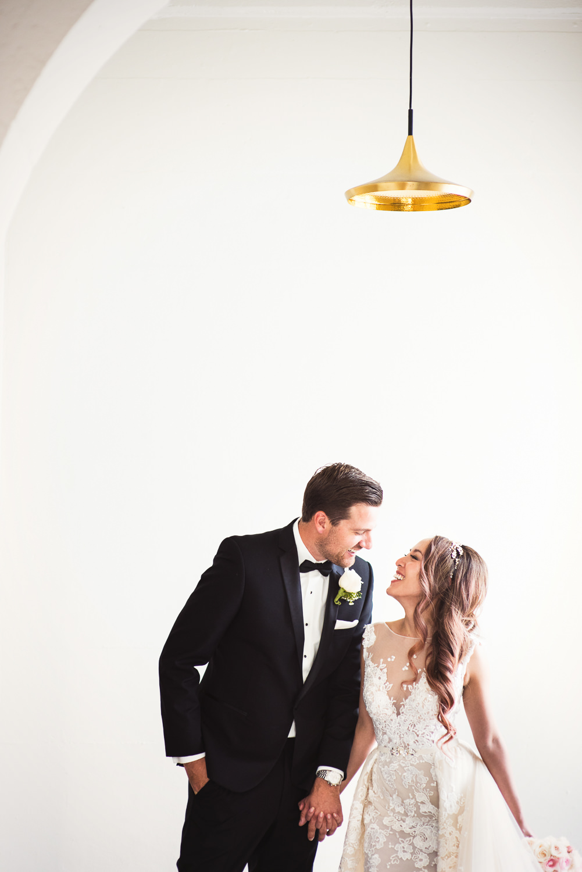 Vibiana Wedding Venue - Happy Newly Weds