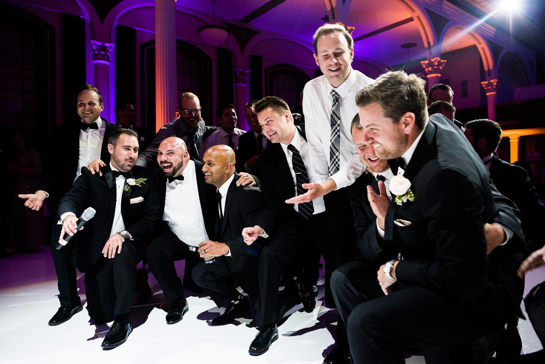 Vibiana Wedding Venue - Groomsmen At Reception