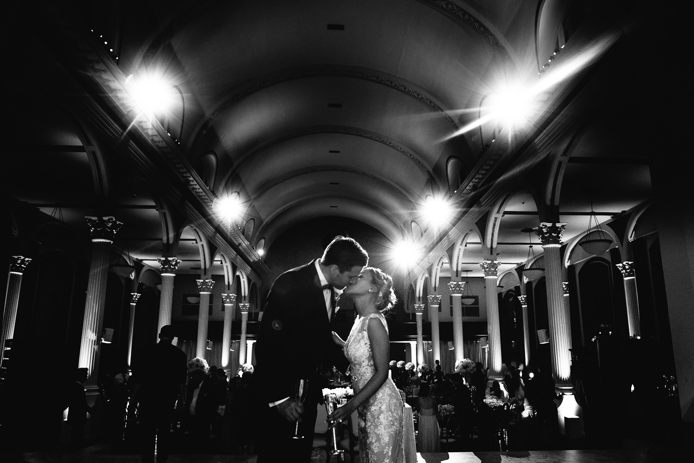 Vibiana Wedding Venue - Final Kiss