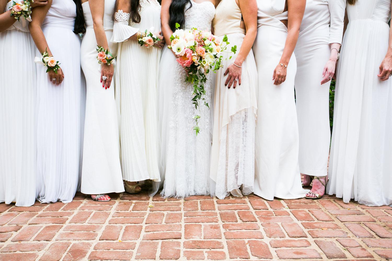 Bridesmaids Dresses at Haiku Mill Wedding in Maui Hawaii