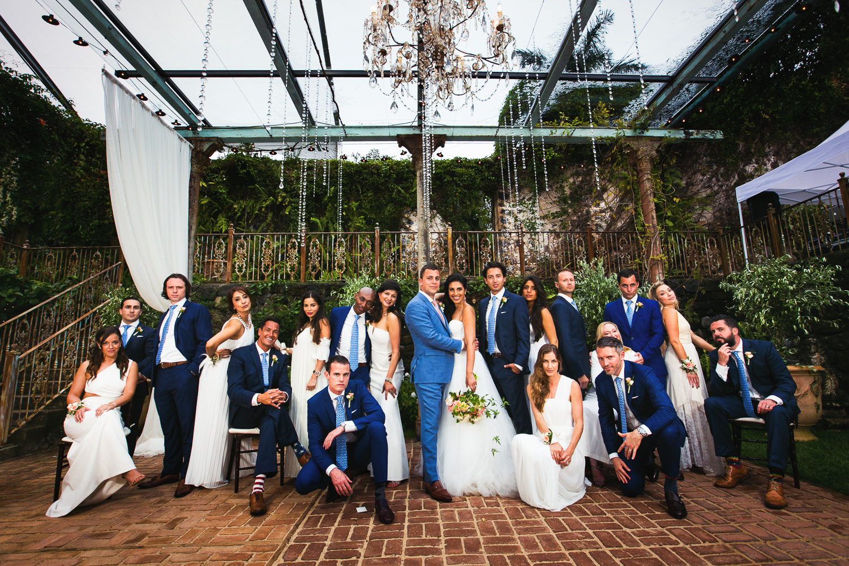 Haiku Mill Wedding in Maui Hawaii Bridal Party