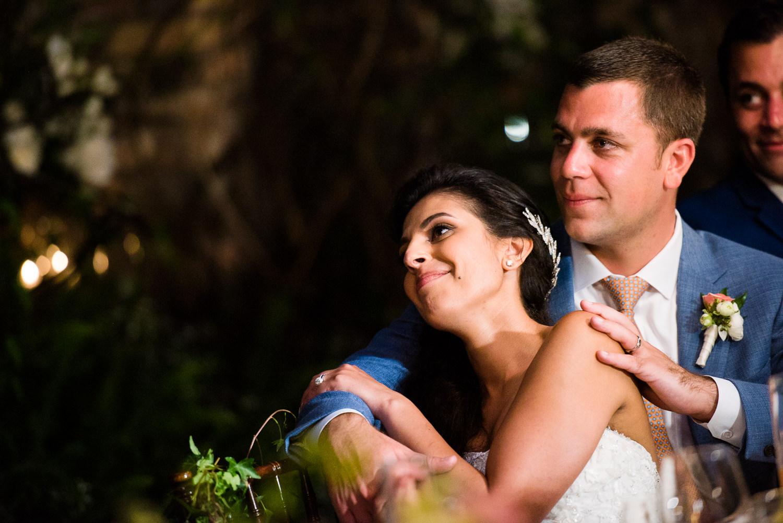 Gorgeous reception at Haiku Mill wedding on Maui