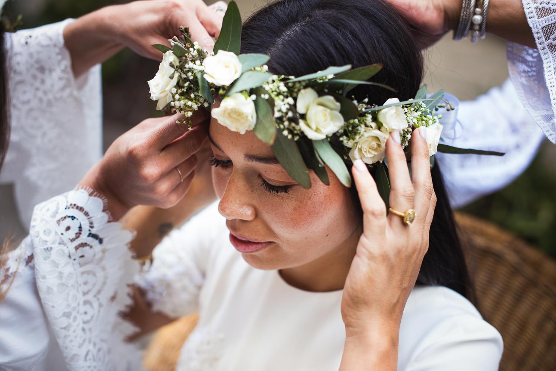 Parker Palm Springs Wedding - Bride Getting Ready