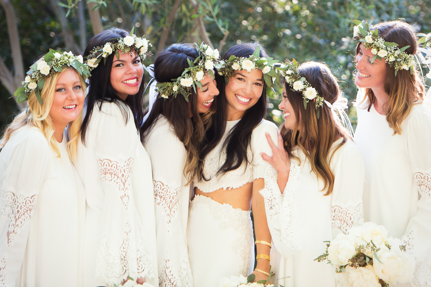 Parker Palm Springs Wedding - Bridal Party