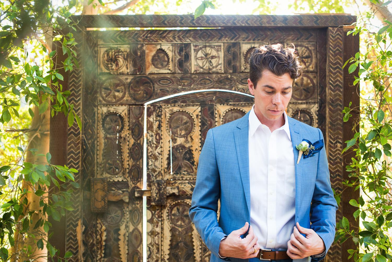 Parker Palm Springs Wedding - Groom Getting Ready