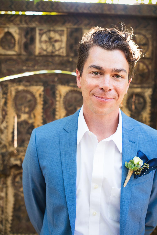 Parker Palm Springs Wedding - Groom Portrait
